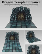 Dragon Temple Entrance | Modular dungeon accessory