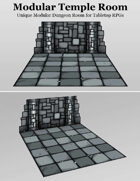 Temple Room | Unique Modular Dungeon Tile
