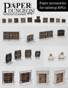 Paper Dungeon | Paper accessories for tabletop RPGs