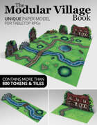 The Modular Village Book | More than 800 Tokens & Tiles