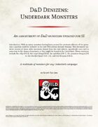 D&D Denizens: Underdark Monsters