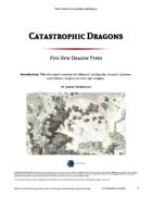 Catastrophic Dragons - World Builder Blog Presents