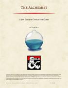 The Alchemist - Character Class