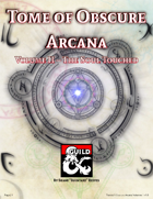 BA002R: Tome of Obscure Arcana - Volume 1