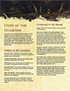 Paladin Archetype: Oath of the Guardian