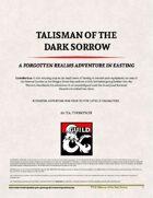 Talisman of the Dark Sorrow