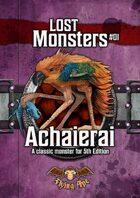 Achaierai - Lost Monsters #01