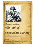 Paladin Variant: The Oath of Immaculate Nobility