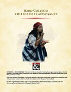Bard - College of Clairvoyance