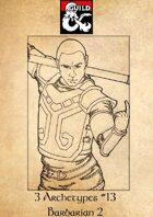 3 Archetypes #13 - Barbarian 2