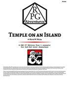 RPG002 Temple on an Island