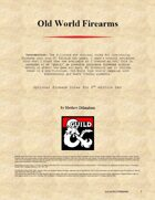 Old World Firearms