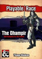 Dhampir - Playable Race