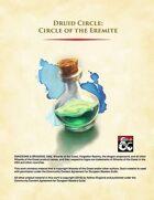 Druid Circle - Circle of the Eremite