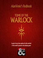 AlanVenic Tome of the Warlock