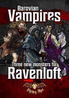 Barovian Vampires - Three new monsters for Ravenloft