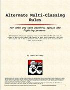 Alternate Multi-classing Rules