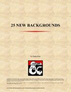 25 New Backgrounds