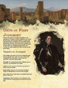 Paladin Archetype: Oath of Fiery Judgment