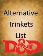 Alternate Trinkets List