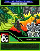 Legacy of Io: The Lost Bestiaries - Gem Dragons