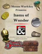 5MWD Presents: Items of Wonder