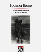 Books of Blood - Ravenloft Character Options