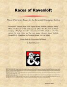 Ravenloft Races