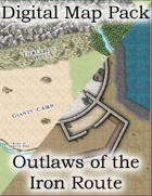 Color Digital Map Pack: DDEX01-09 Outlaws of the Iron Route
