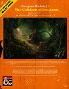 Dungeon Module J1 The Children of Somerset