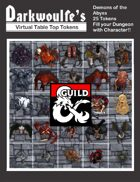 Darkwoulfe's Token Packs: Demons of the Abyss DMSGuild Version
