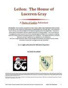 Leilon: The House of Luceren Gray