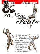 10 New Feats