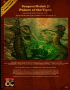 Dungeon Module J2: Palace of the Viper