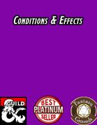 Conditions & Effects for Fantasy Grounds