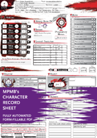 Character Sheet - MPMB's fully-automated Colorful character generator