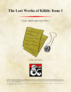 The Lost Works of Kilith: Issue 1