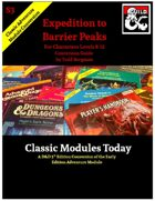 Classic Modules Today: S3 Expedition to Barrier Peaks