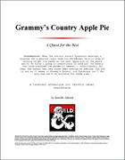 Grammy's Country Apple Pie