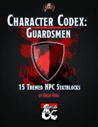 Character Codex: Guardsmen