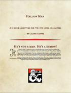 Hallow Man- Halloween Special Edition