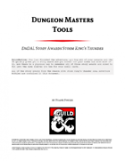 Dungeon Master Tools: DnDAL Story Awards Storm King's Thunder