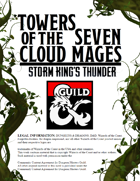 Towers of the Seven Cloud Mages - Bonus Encounter Location - Storm King's Thunder