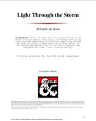 Light Through the Storm