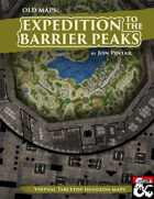 Expedition to the Barrier Peaks - Realistic Maps