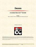 Race: Drider (5e)