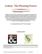 Leilon: The Floating Tower