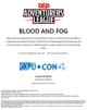 CCC-UCON-01 Blood & Fog