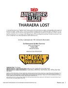 CCC-GHC-01 Tharaera Lost