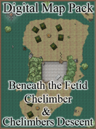 Color Digital Map Pack: DDAL05-06 & DDAL 05-07 - Beneath the Fetid Chelimber & Chelimbers Descent